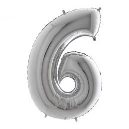NUMERO 6 SILVER CM.18