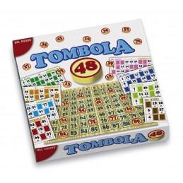 TOMBOLA LEGNO 48 CARTELLE